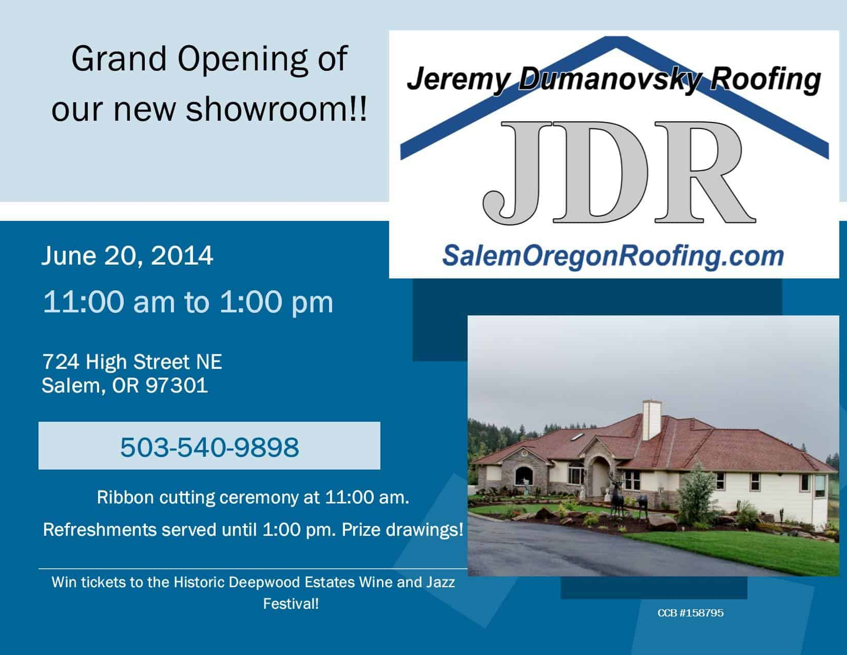 Celebrate The Grand Opening Of Our New Location!